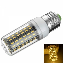 E27 9W 900lm 3000K 96-SMD 4014 LED Corn Lamp Bulb 110-120V Warm White Light