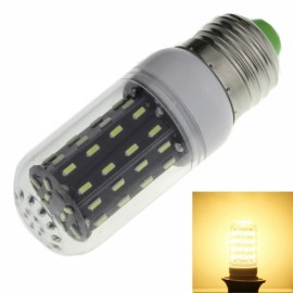 E27 7W 700lm 3000K Warm White Light 56-SMD 4014 LED Corn Lamp Bulb (AC 220-240V)