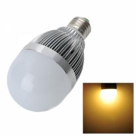 DB-CE309-12 E27 12W 1000LM 3500K 24-SMD 5730 LED Warm White Light Bulb Silver & Ivory White (89-265V)