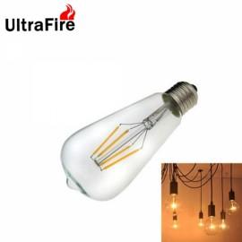 Ultrafire E27 4W 1000lm 4-LED Retro Incandescent Light Edison Bulb