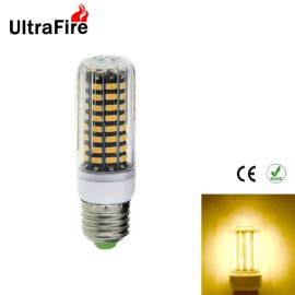 5pcs Ultrafire E27 8W 1800lm 2800-3200K Warm White Light 80-SMD5733 Non-Dimmable LED Corn Light Bulb (AC 220-240V)