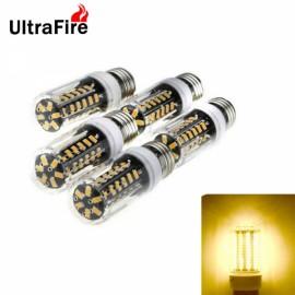 5pcs Ultrafire LED Corn Light 7W E27 Bulb 42-SMD 5733 - Warm White Light