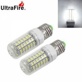 2pcs Ultrafire E27 6W 720LM LED Corn Light Bulb 69-SMD5730 White Light Non-Dimmable