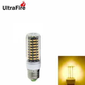 Ultrafire E27 8W 800lm 2800-3200K Warm White Light 80-SMD5733 Non-Dimmable LED Corn Light Bulb (AC 220-240V)