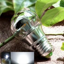 E27 3W Energy Saving Cool White LED Bulb Light Shadowless Lamp (AC 110-220V)