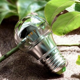 E27 3W Energy Saving Warm White LED Bulb Light Shadowless Lamp (AC 110-220V)