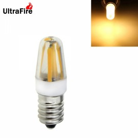 Ultrafire New E14 2W 4-LED 300LM 3200K Warm White Light LED Bulb (AC 220V) White & Yellow