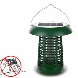 Outdoor Solar Powered UV Mosquito Killer Lamp Garden Light