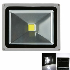 30W 6000-6500K White Light Aluminium Alloy LED Flood Light with IP65 Waterproof Gray