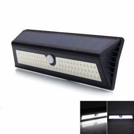 77 LED 1200LM 3 Modes 120-Degree Motion Sensing Detection Waterproof Solar LED Wall Light