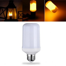 E27 5W Three Modes Yellow SMD2835 99LEDs Flame Light Bulb for Decoration AC220V