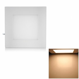 Square Shape 12W 4000K 1050LM 12 LED Warm White Panel Lamp White (100~250V)