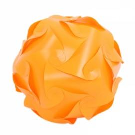 30pcs 30cm Ceiling DIY Puzzle Lamp IQ Jigsaw Light w/ 15 Designs Orange M
