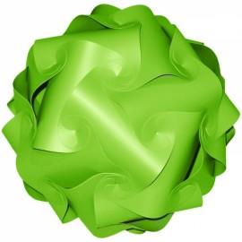 30pcs 30cm Jigsaw Lamp IQ Puzzle Ceiling DIY Light Cover Green M