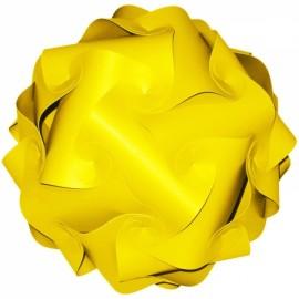 30pcs 30cm Puzzles Jigsaw Light Lamp shade Ceiling IQ DIY Lamp Yellow M