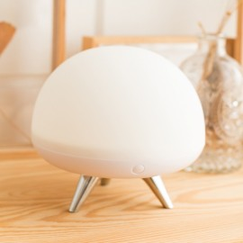 Creative Charge Decompression Night Light Small White Pat Glass Lamp Colorful Touch Bedside Lamp Colorful