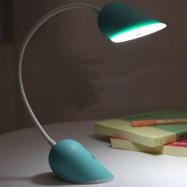 Creative Rechargeable Table Lamp LED Night Light USB Charging Light Eyeshield Folding Reading Gift Outdoor Bedroom Lamp Lights Light Green with White