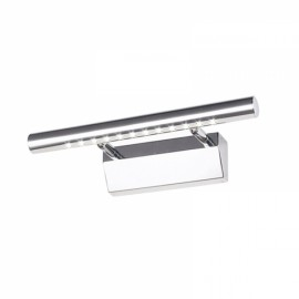 Stainless Steel Waterproof LED Make-up Wall Mirror Light 3W White Light