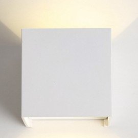 7W IP65 White Surface Mounted LED Wall Lights Outdoor Cube Lamp Warm White Light White