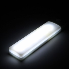 6 LED Closet Wall Night Light Motion Sensor Auto PIR USB White Light
