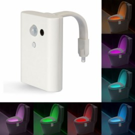 8 Colors Intelligent Closestool Induction LED Night Light