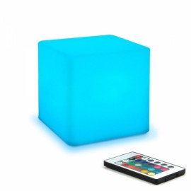 15cm Cube Dimmable LED Mood Night Light Lamp for Kids and Adults