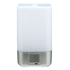 USB LED Alarm FM Radio  Sunrise Clock Bedside Lamp 7 color