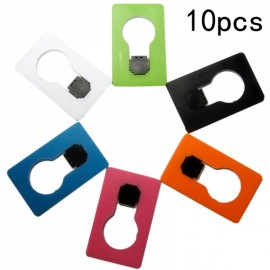 10pcs Mini LED Card Folding Light Portable Pocket Night light Random Color
