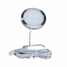 LED Under Cabinet Lighting Kit 10W 1000lm Puck Lights Under Counter Lighting Kitchen Closet Light Set of 4 - Cool White US Plug