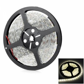Waterproof 12W 900LM 3500K 300-3528 SMD LED Light Strip Warm White