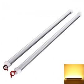 36 LED 11W 12V 50cm Waterproof Rigid Strip Light Cabinet Light Warm White
