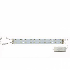 20cm 10W 5730 LED Bar Strip Light w/ Power Driver & Magnetic Holder White Light