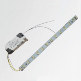 40cm 12W 5730 LED Bar Strip Light w/ Power Driver White Light