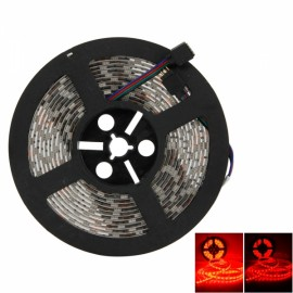 Waterproof 300-LED SMD5050 RGB IR44 Controller 5M Flexible LED Light Strip with Remote Control