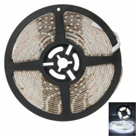 25W SMD3528 5m 300LEDs White Light Epoxy Waterproof LED Light Strip (White Lamp Plate) (12V)