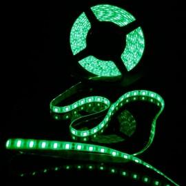 36W SMD5050 5m 300LEDs Green Light Epoxy Waterproof LED Light Strip (White Lamp Plate)(12V)