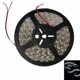 36W SMD5050 5m 300LEDs White Light Epoxy Waterproof LED Light Strip (White Lamp Plate) (12V)