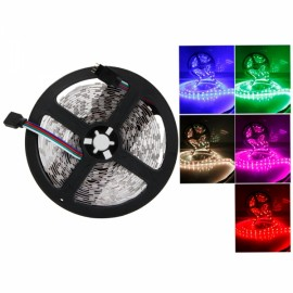 300-LED SMD5050 RGB IR44 Controller 5M Flexible LED Light Strip with Remote Control (12V)