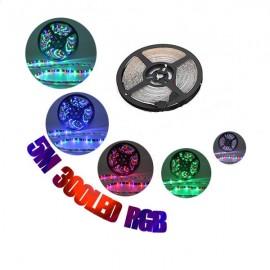 IP65 Waterproof 24W RGB Light 3528SMD 300 LEDs 5M Flexible Light Strip (12V)