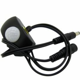 PIR Infared Motion Sensor Switch Controller for LED Strip Light - Black