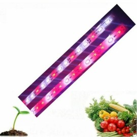 6W 50cm 5630 SMD LED Red:White 2:1 Grow Light Rigid Strip for Hydroponics Greenhouse