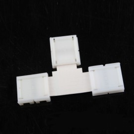 4 Pin RGBW L/T/+ Shape Corner Connector for 10mm Width LED Strip - T
