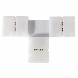 10mm T Shape 2 Pin 5050 PCB LED Strip Corner Connector for Single Color Lighting