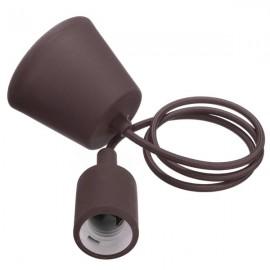 Colorful E27 Silicone Rubber Pendant Light Lamp Holder Socket for Bar Room Restaurant Coffee