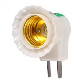 E27 Base to AC Power 110V 220V Lamp Bulb Socket Adapter Converter Switch