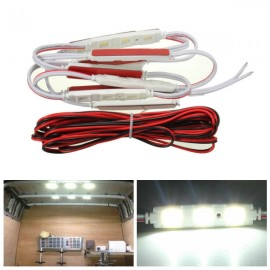10pcs 3-LED 12V Car Interior Light for LWB Van Sprinter Ducato Transit