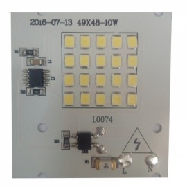 10W SMD2835 Outdoor Smart IC LED COB Chip Bead DIY Floodlight White