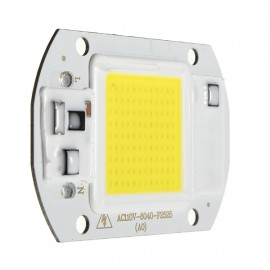 30W 1800LM LED Flood Light DIY COB Chip Bulb Bead 60x40mm AC110V White Light