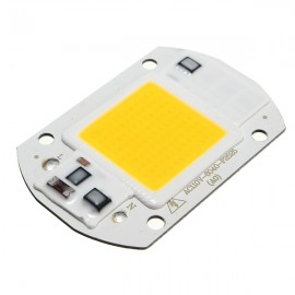 20W 1800LM LED Flood Light DIY COB Chip Bulb Bead 60x40mm AC110V Warm White