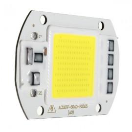 50W 1800LM LED Flood Light DIY COB Chip Bulb Bead 60x40mm AC110V White Light